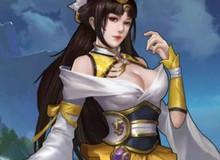 """Nữ tướng có vòng 1 """"khủng"""" nhất Cổ Long Quần Hiệp Truyện sắp ra mắt cộng đồng game thủ"""