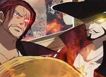 Shanks Tóc Đỏ vs Mắt Diều Hâu Mihawk: Cặp kì phùng địch thủ và những trận chiến bất tận trong One Piece