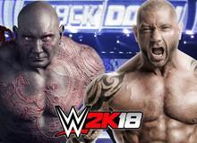 """""""Rời bỏ"""" Guardian of the Galaxy, người tàng hình Drax có ý định trở lại với võ đài WWE"""