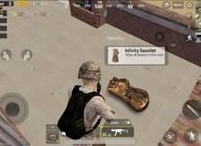 Người chơi PUBG Mobile nghĩ gì khi Găng Tay Vô Cực xuất hiện trong game?