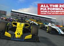 Game đua xe Công thức 1 kinh điển - F1 Mobile Racing đã lên kệ App Store