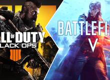 """Call of Duty: Black Ops 4 """"cấm cửa""""…nhà phát triển game Battlefield V"""