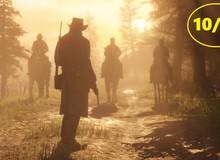 Hoa mắt với điểm số toàn 10 là 10, Red Dead Redemption 2 chính thức bước vào ngôi đền của những huyền thoại