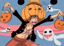 """""""Đau ruột"""" với hình ảnh các nhân vật One Piece hóa trang đón Halloween"""