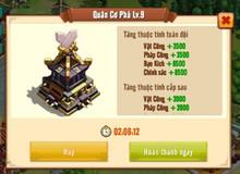 Thiên Hạ Anh Hùng: Mẹo chơi Phong Địa - tính năng tăng lực chiến đội hình nhanh nhất hiện nay, hơn cả nâng tướng