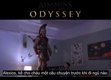 Chán làm sát thủ, nhân vật trong Assassin's Creed chuyển nghề bảo mẫu gia đình