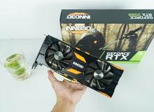 Cận cảnh INNO3D Geforce RTX 2080 x2 OC: 2 quạt êm ái, thêm đèn LED các mặt