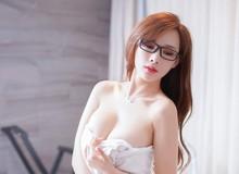 Mềm nhũn trước loạt ảnh nóng bỏng đầy khiêu khích của siêu mẫu Zhou Yan Xi