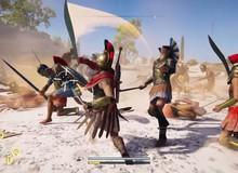 """Bất ngờ! Assassin's Creed Odyssey cũng có chế độ """"PUBG"""""""