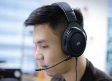 Corsair HS60: Tai nghe gaming nhã nhặn thanh cảnh, âm thanh vòm 7.1 tuyệt hảo