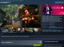Hitman 2 vừa ra mắt đã bất ngờ mở cửa miễn phí cho game thủ thỏa sức trải nghiệm