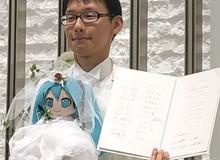 Chàng trai người Nhật kết hôn với ca sĩ ảo Hatsune Miku vì không tin vào phụ nữ