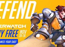 Game thủ chuẩn bị, Overwatch sẽ miễn phí trong cả tuần sau