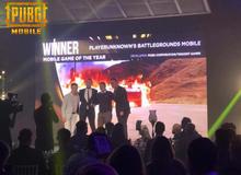 "PUBG Mobile thắng giải ""Game mobile của năm"" ở lễ trao giải Golden Joystick Awards 2018"