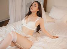 Hot girl ngủ gật Thủy Tiên đăng tải clip hậu trường 'đốt mắt', thẳng thừng phản pháo vụ photoshop quá đà