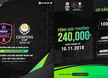 Tương lai rộng mở cho VĐV chuyên nghiệp của FIFA Online 4 - Thi đấu tại giải vô địch thế giới của FIFA Global Series