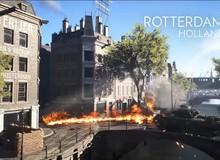 Battlefield V phô diễn đồ họa tuyệt đỉnh với 8 map thi đấu dựng nguyên mẫu 100% so với đời thực