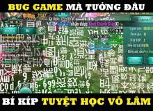 """Đúng là """"fan cuồng"""" Kim Dung, nhìn bug game cũng ra toàn... Càn Khôn Đại Na Di với Sư tử Hống"""
