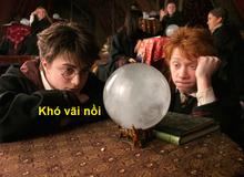 Harry Potter: Làm phù thủy đâu có sướng, nhìn 15 môn mà họ phải học ở trường Hogwarts là biết khổ rồi