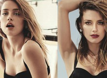 Bỏng mắt với những hình ảnh quyến rũ của Amber Heard, nữ vương xinh đẹp tóc đỏ trong Aquaman