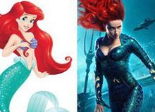 """Aquaman: Hóa ra công chúa Mera xinh đẹp chính là """"phiên bản hiện đại"""" của nàng tiên cá Ariel mà không ai hay!"""