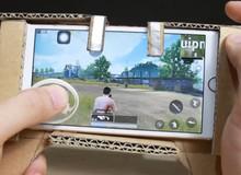 Hướng dẫn game thủ tự làm gamepad cho điện thoại bằng bìa cứng, chơi ngon PUBG Mobile mà không tốn tiền