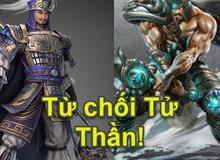 """Trương Liêu bất ngờ trở thành """"siêu tank"""" khi sở hữu skill """"từ chối tử thần"""" giống Tryndamere"""