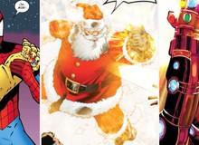 """Đừng bất ngờ, ông già Noel đã từng sở hữu Găng tay Vô cực và """"bán hành"""" cho các siêu anh hùng đấy"""