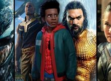 Top 8 bộ phim siêu anh hùng xuất sắc nhất năm 2018: Bạn đã xem hết chưa?