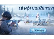 Chuỗi sự kiện lễ hội mùa đông hấp dẫn nhất năm đã có mặt tại PUBG MOBILE VN
