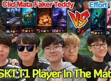 LMHT: Lác mắt với trận đấu full 6 thành viên mới SKT T1, Clid gánh team cực ghê trong khi Faker chỉ farm và feed