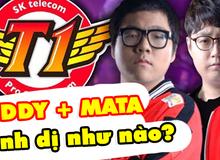 LMHT: Đây chính là sức mạnh đáng sợ của bộ đôi đường dưới SKT, Mata và Teddy