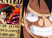 Khi One Piece kết thúc, có lẽ mức truy nã của Luffy, Tân Vương Hải Tặc sẽ đạt ngưỡng... hơn 5 tỷ beri?