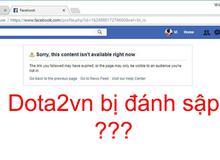 Dota2Vn - Một trong những group Facebook đông game thủ nhất Việt Nam bất ngờ bị đánh sập