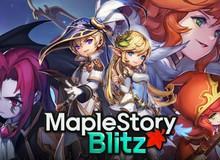 """Game """"Clash Royal Hàn Quốc"""" cực chất MapleStory Blitz chính thức mở cửa tại Việt Nam"""