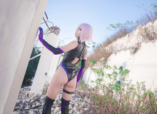 Ngất ngây với cosplay cô nàng Mashu Kyrielight cực gợi cảm trong Fate/Grand Order