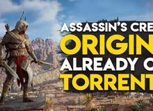 """Assassin's Creed: Origins đã bị crack, game thủ Việt thi nhau khoe """"chiến tích"""" tải game"""
