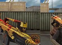 Đột Kích: Tencent lại trình làng bộ vũ khí Rồng hoàng gia mới với lớp skin cực màu mè