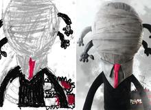 Họa sĩ biến nét vẽ nguệch ngoạc của trẻ em thành những sinh vật đẹp đến ngỡ ngàng