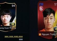 Điểm qua 3 thẻ cầu thủ Việt Nam giá trị nhất trong FIFA Online 3