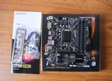 Gigabyte Z370M DS3H - Bo mạch chủ cao cấp 'giản lược' nhỏ gọn cực ngọt cho game thủ
