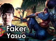 LMHT: Vừa ra mắt Ngọc Siêu Cấp mới, Faker đã dùng cho Yasuo để 'gank tem' cực ghê