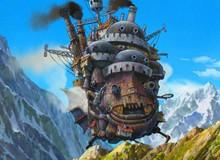 Ngắm nhìn những bản phác thảo của bộ phim Howl's Moving Castle để thấy Ghibli thật tuyệt vời