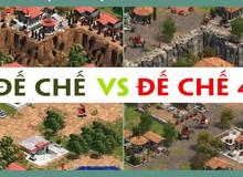 Cùng ngắm nhìn sự khác nhau về đồ họa giữa Age of Empires: Definitive Edition và phiên bản cũ