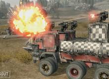 """Tiếp bước nhiều 'anh hào' đến cả game đua xe bắn súng Crossout cũng có """"chế độ PUBG"""""""