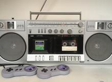 Game thủ 8x độ máy cát xét cũ thành máy chơi SNES cực kỳ chất