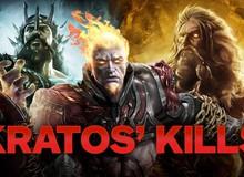 Điểm mặt 15 vị thần mạnh nhất đã trở thành bại tướng dưới gót chân của Kratos (Phần 1)