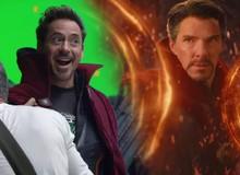 Ơ kìa, tại sao Iron Man lại mặc áo choàng của Dr.Strange thế kia!