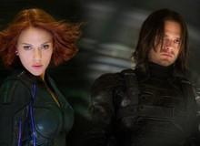 """Chiến binh mùa Đông Sebastian Stan muốn được xuất hiện bên cạnh Góa phụ đen Scarlett Johansson trong phim riêng về """"Black Widow"""""""