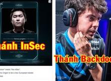 Thánh sáng tạo ra combo InSec của Lee Sin bất ngờ đầu quân cho huyền thoại Backdoor LMHT